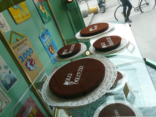 Torta cioccolato dolci e dolcezze